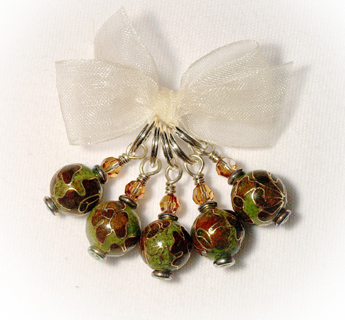 Cloisonne Olive Brown