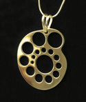 Pendant - Needle Gauge 14K Gold