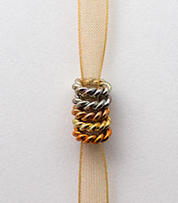 Copper Rings - Small Braided