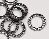 Hammered Rings - Silver